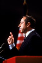 Mario Cuomo delivering DNC Keynote Address, San Francisco, CA 16 July 1984.  Credit: ABC News
